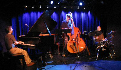 Photo Of the Harry Miller Trio performing at The West Bank Cafe, NYC