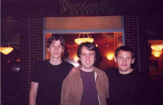 Photo of the Harry Miller Trio at Beanetown Coffeehouse