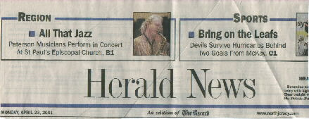image of North Jersey Herald masthead