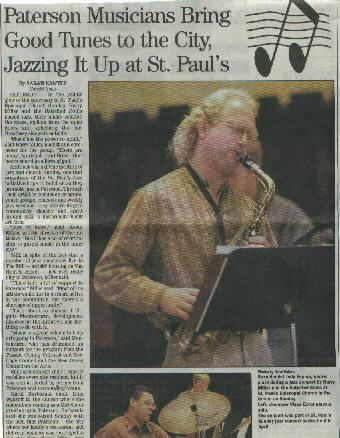newspaper clipping with photo of Jody Espina