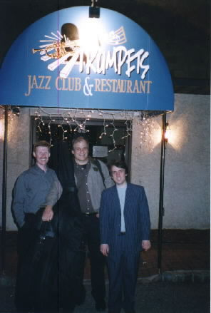 Photo of the Harry Miller Trio at Trumpets