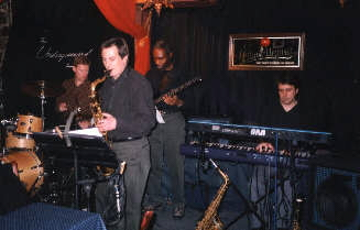 Photo of Harry Miller and the Satisfied Souls at the Underground Lounge